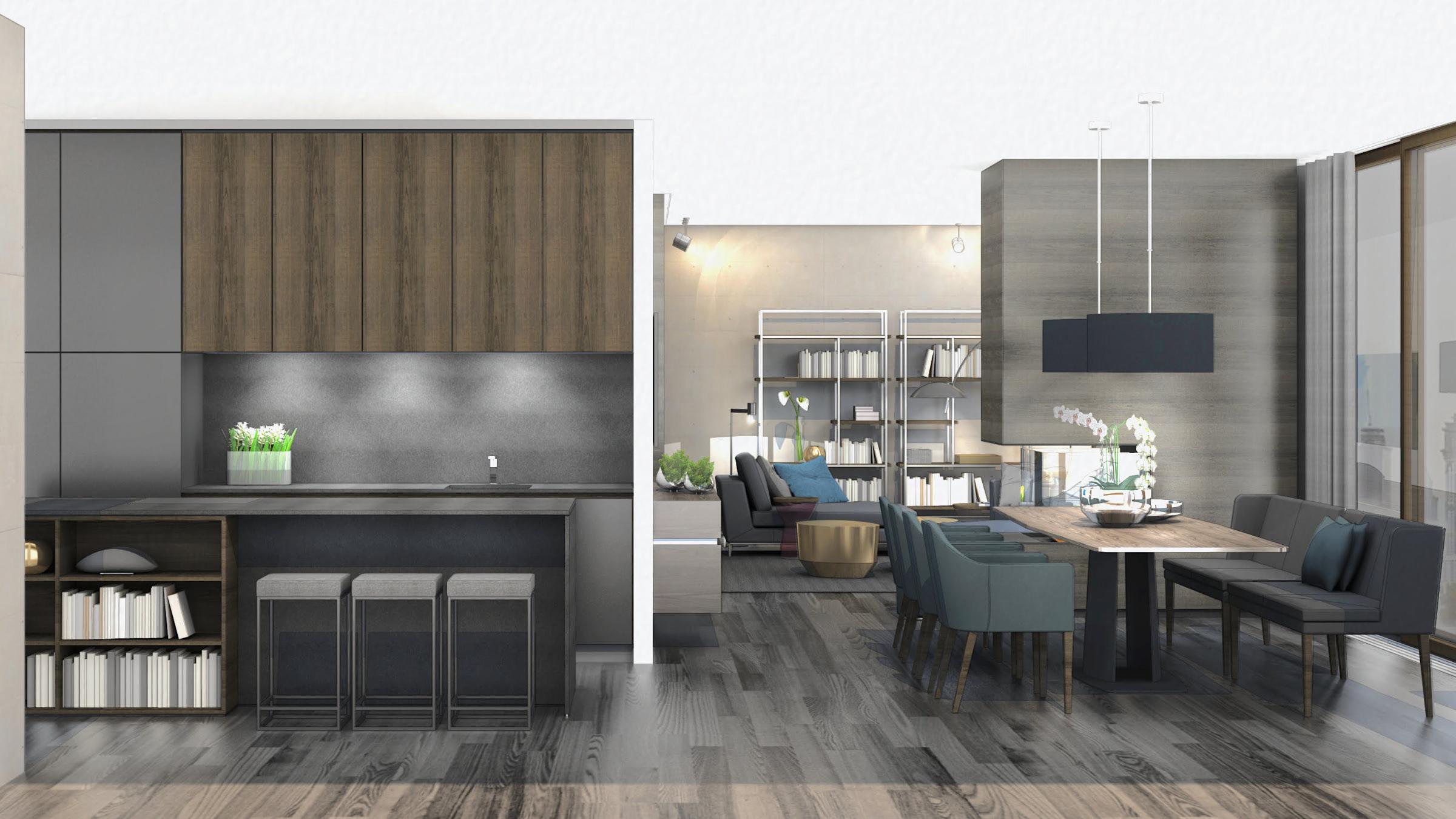 3D Interior Design for Mono Brand Store