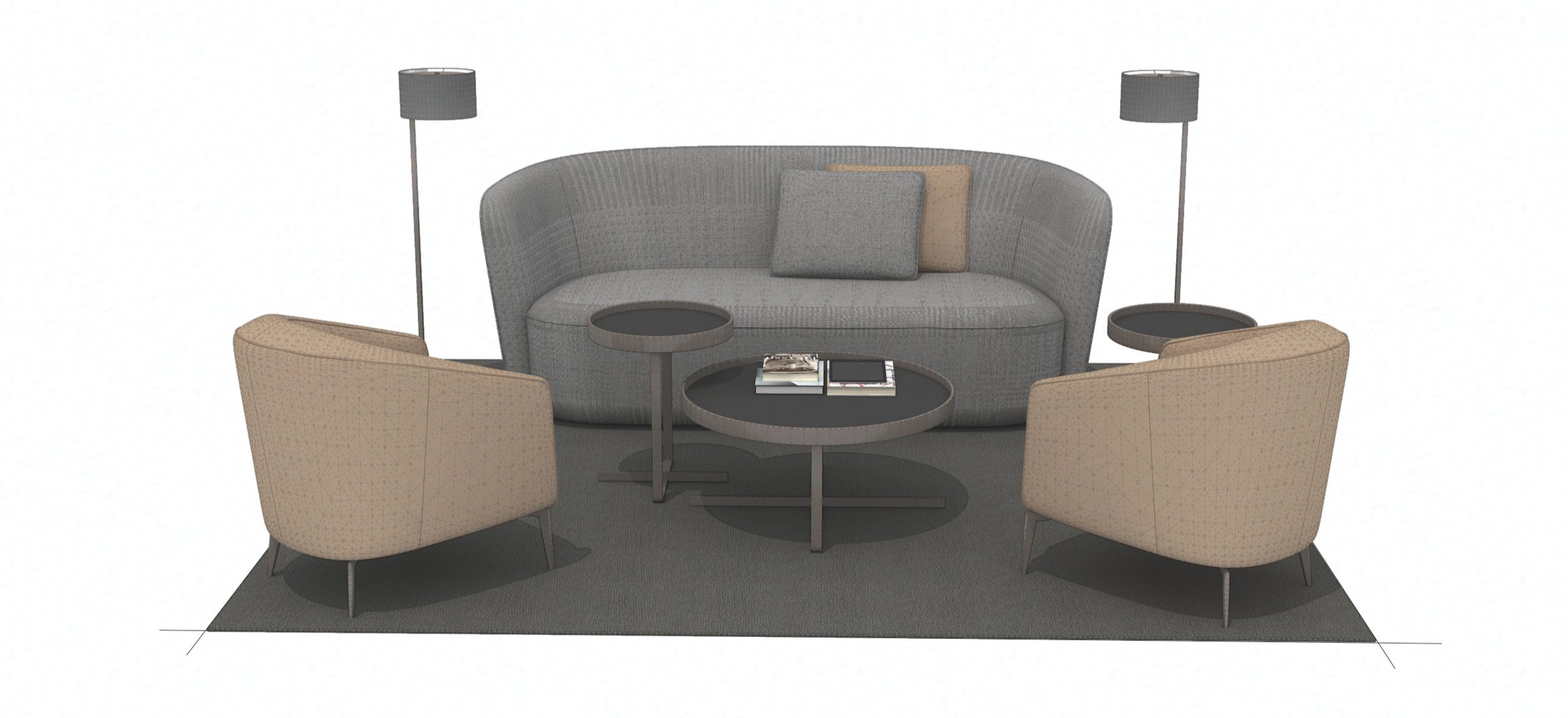 3D Furniture Modeling Services for Furniture Brands