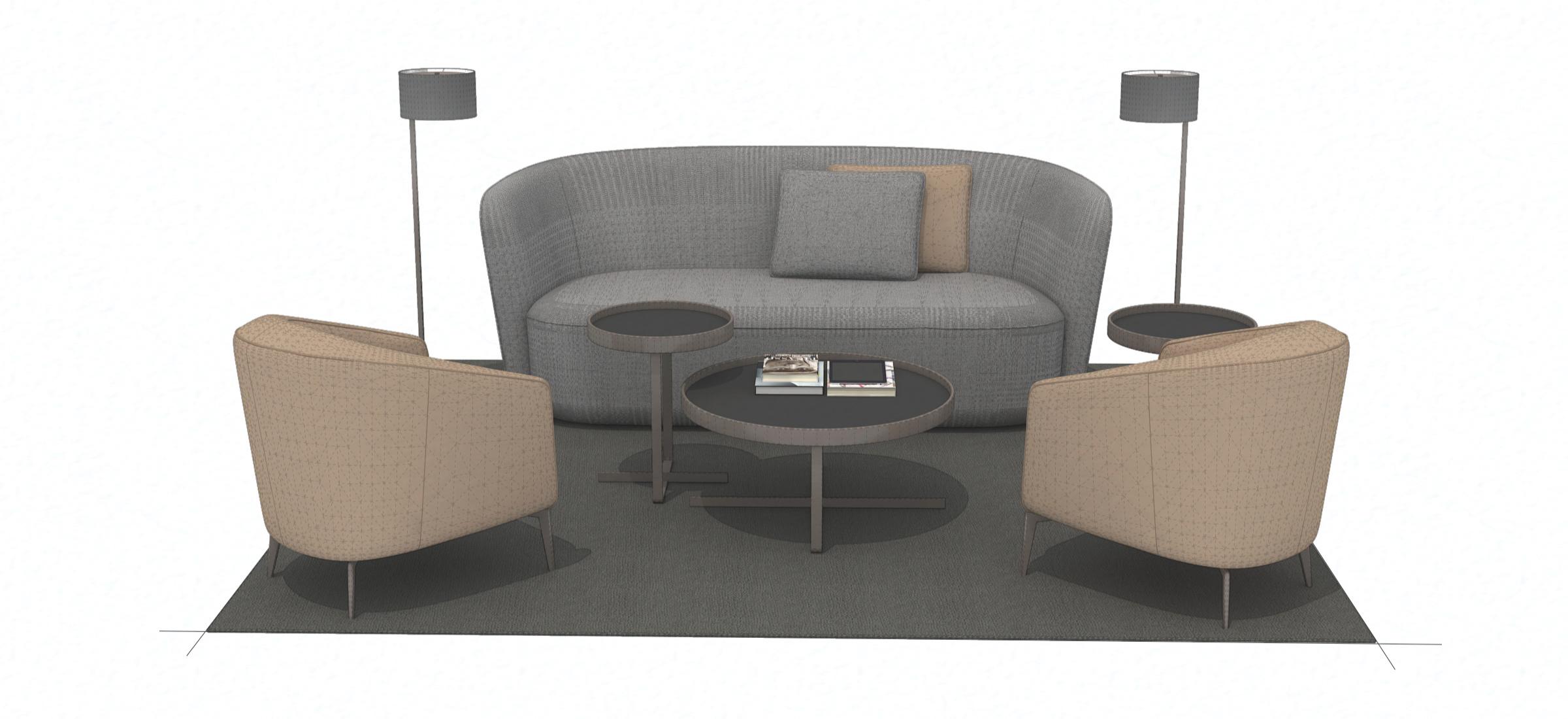 bespoke furniture 3D modeling services