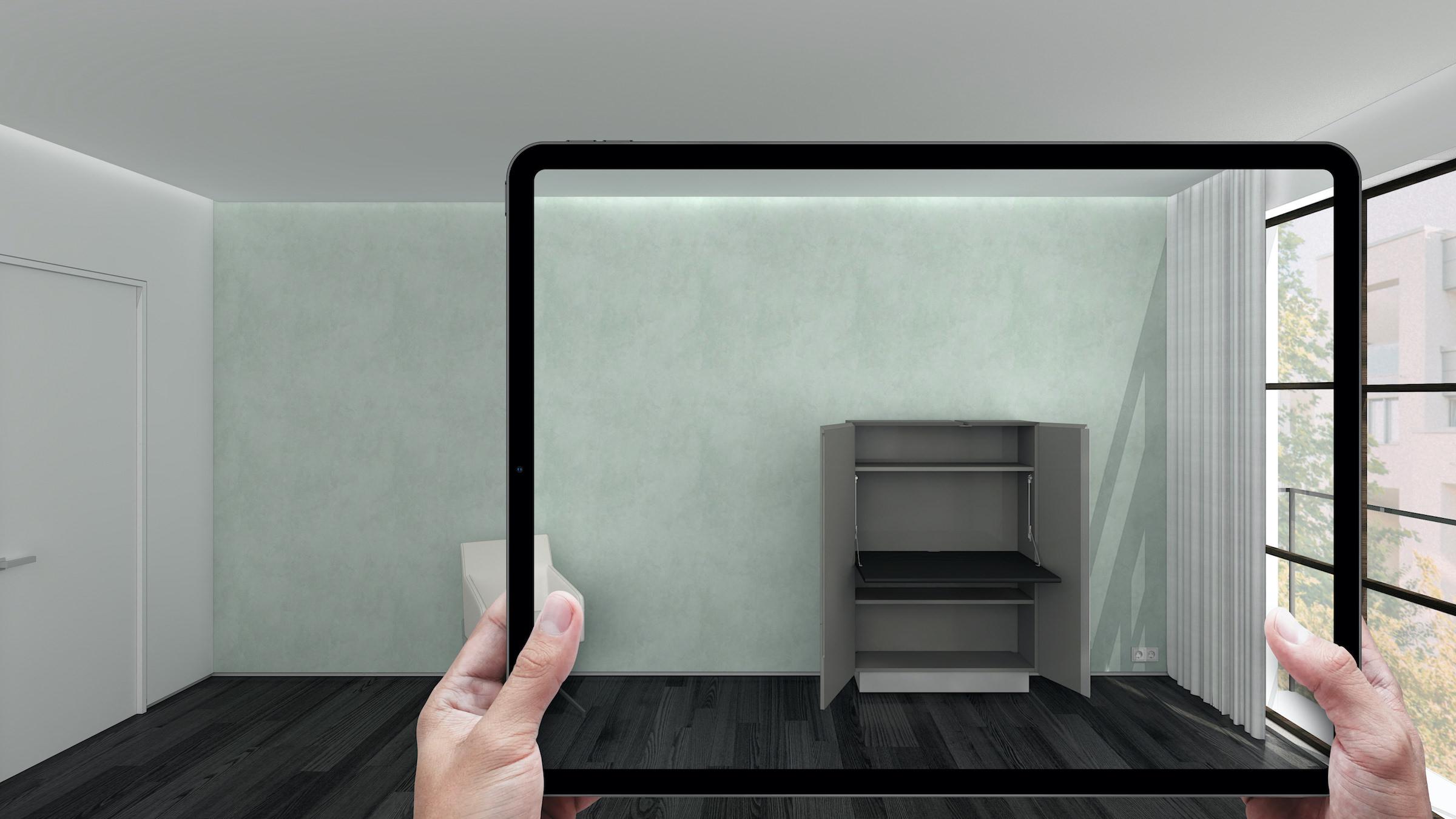 AR 3D furniture model production